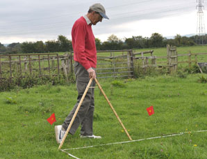Barry Goldring measuring site