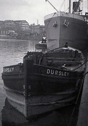 The Dursley loading tobacco at Bristol